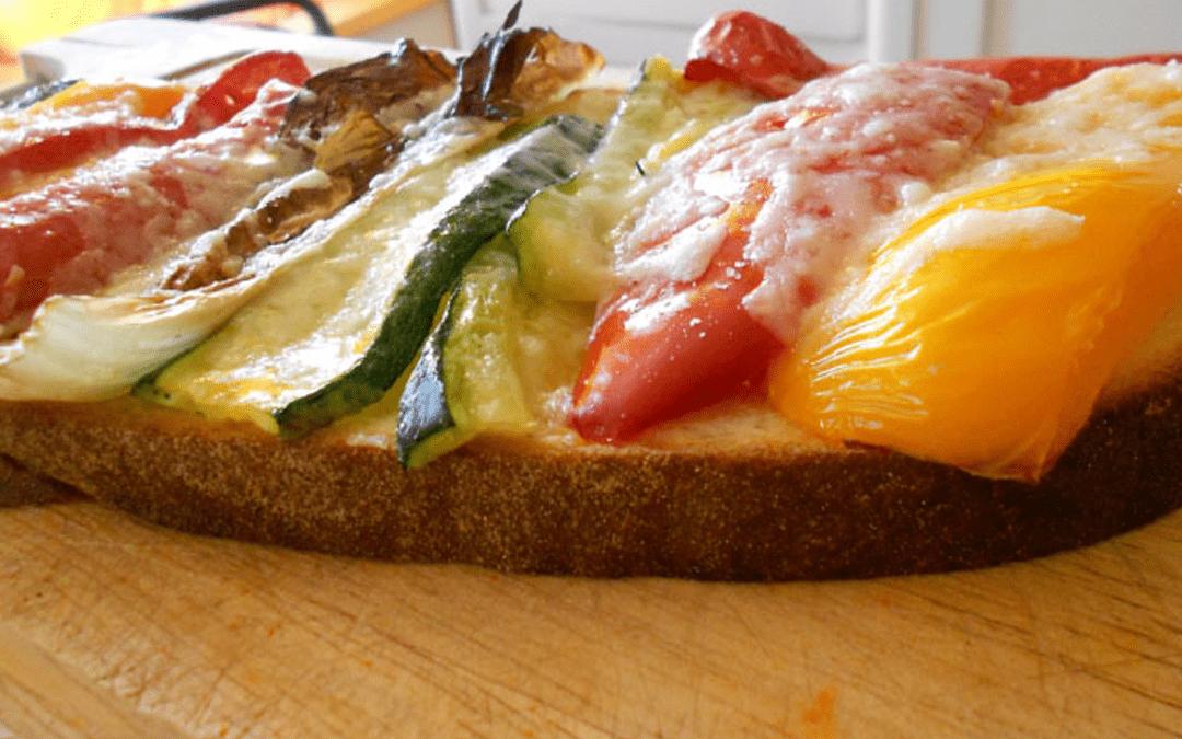 Bruschetta alle verdure scelta di stile
