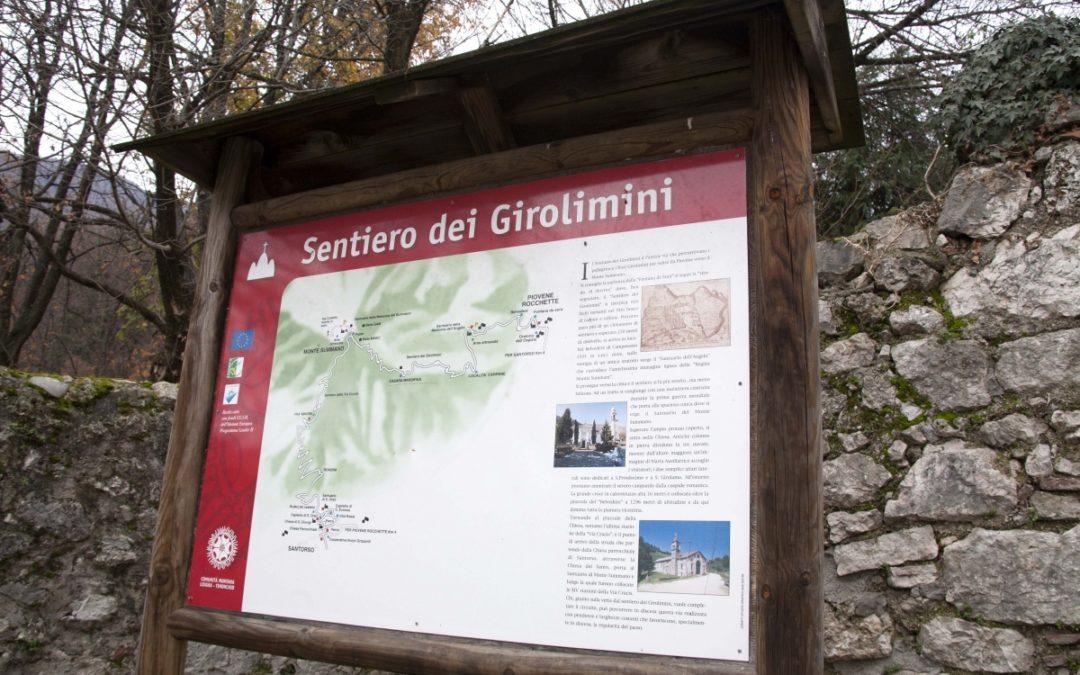 Il sentiero dei Girolimini in autunno