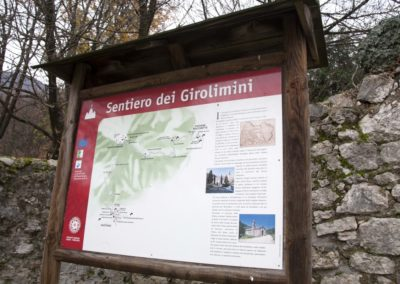 Pannello Sentiero Girolimini