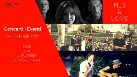 Eventi e Concerti Birreria Vecchia Settembre 2017